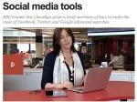 Social Media Tools - BBC Video